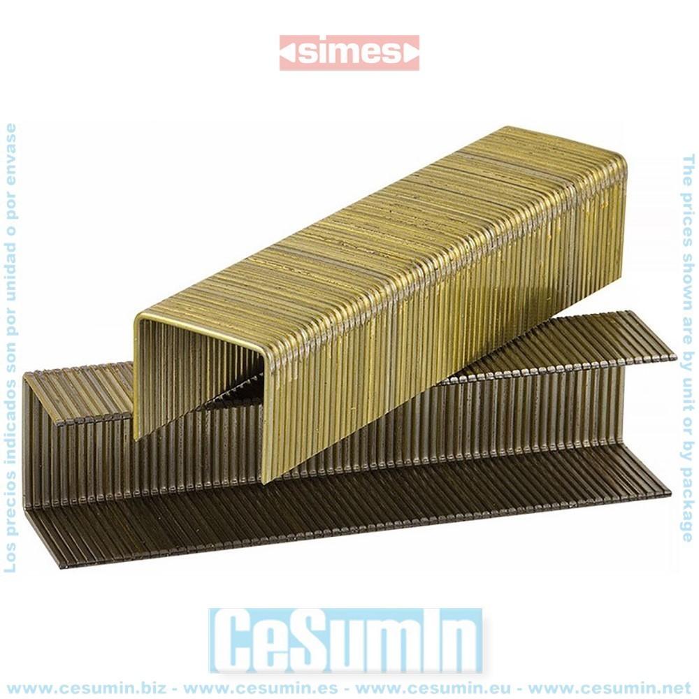 Grapa w5562 - 22 mm - punta divergente - SIMES - Ref: 4226069
