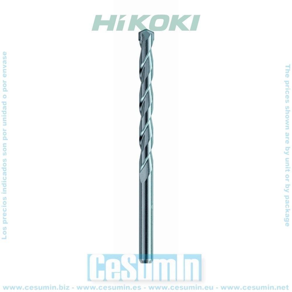 HIKOKI 780857 - Broca mampostería cilíndrica 6x100 mm largo util 60 mm