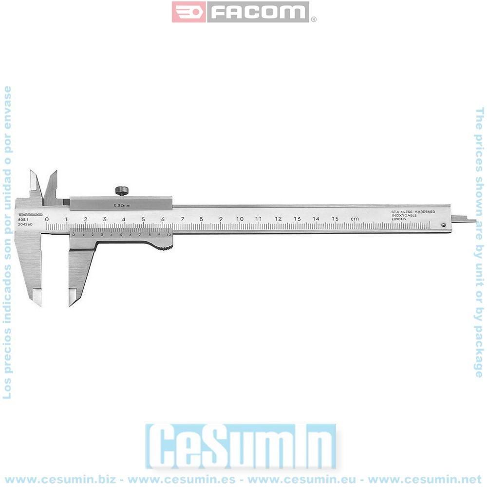 FACOM 805.1 - Calibre 1/50eme 150 mm