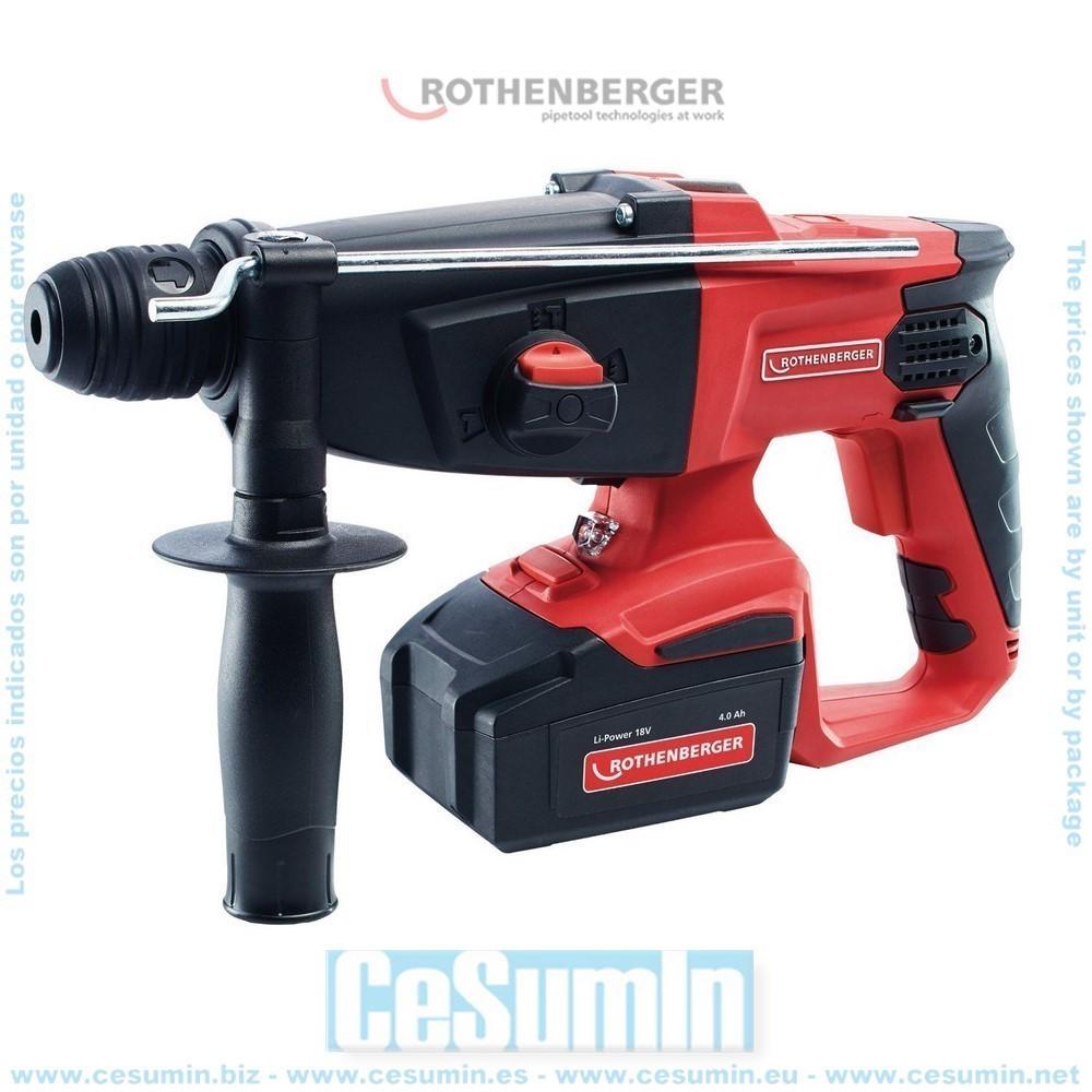 ROTHENBERGER 1000001650 - Martillo a batería ro rh4000