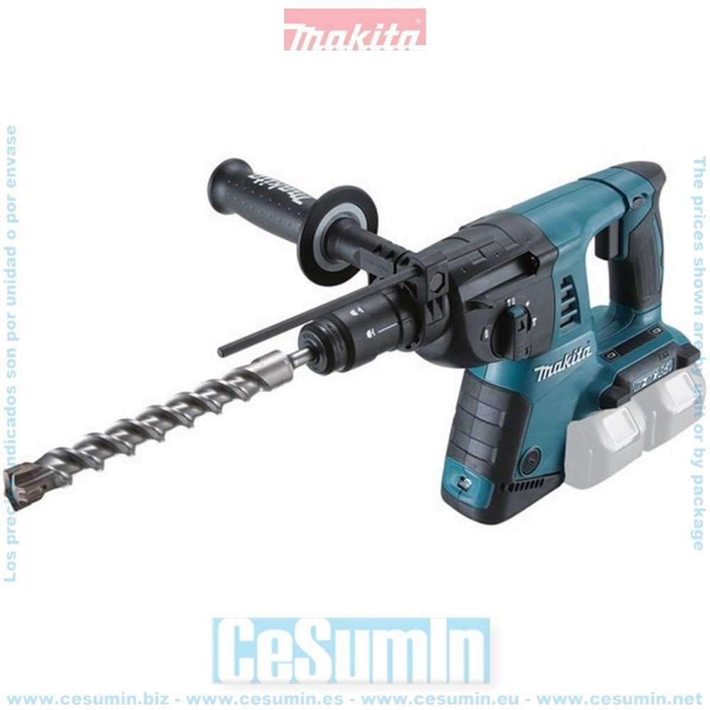 Makita DHR264Z Martillo ligero diametro broca max 26mm 36v litio sin bateria ni cargador