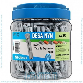 DESA QP304753 - Blister desa nyn - bote m 6 x 35 - 600 uds