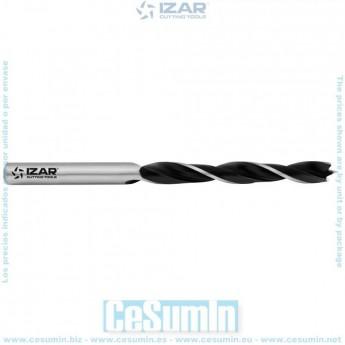 IZAR 18436 - Broca madera 3 puntas 10.00 mm