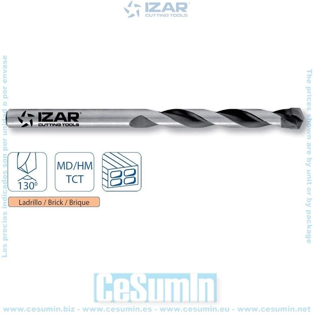 IZAR 18499 - Broca pared 6.00x100 mm