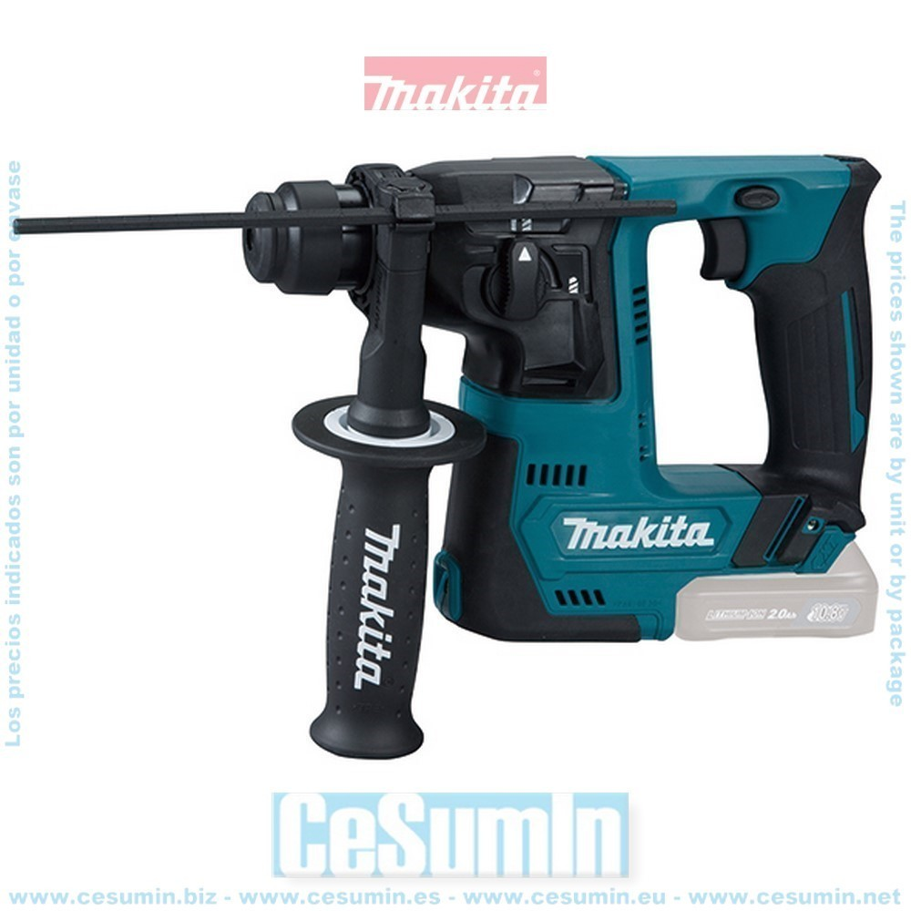 MAKITA HR140DZ - Martillo ligero 14mm a bateria 10.8v cxt