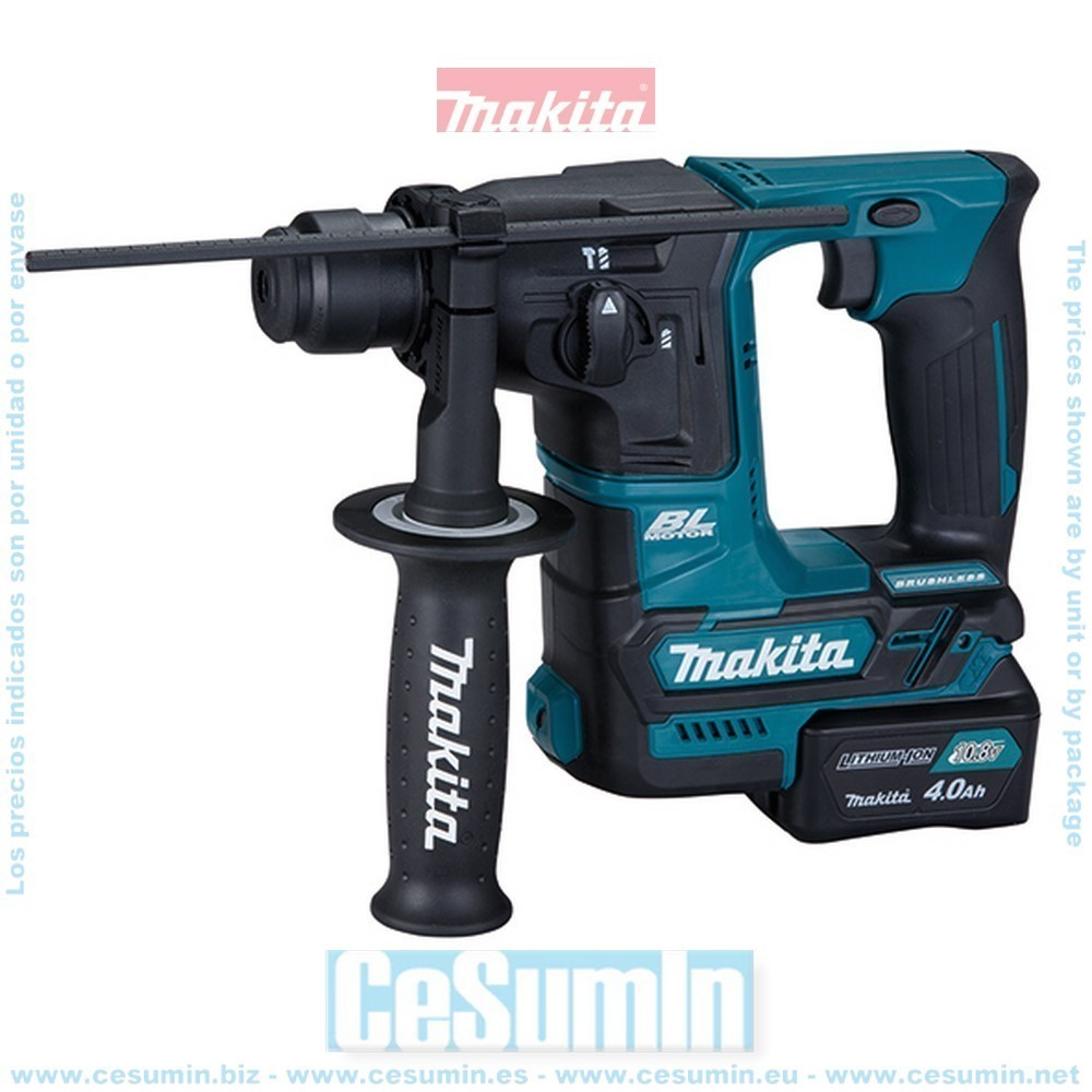 MAKITA HR166DSMJ - Martillo ligero 16mm a bateria 10.8v 4ah cxt