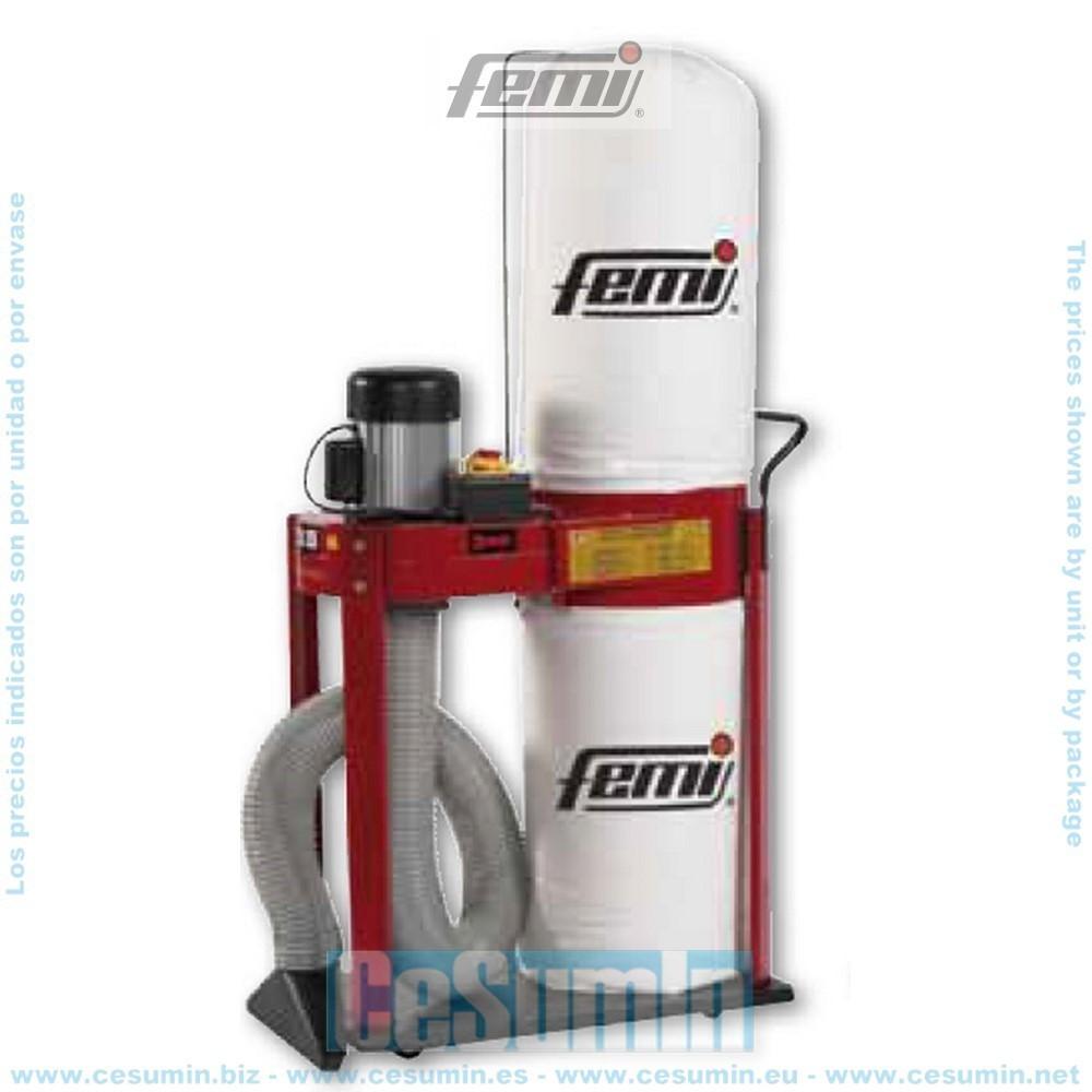 FEMI FM-350PLUS - Aspirador de ciclón 900w - monofásico