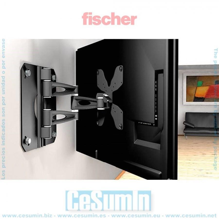 Fischer duopower 2-componentes-universal tacos para plenamente- plattenbaustoffe agujero-