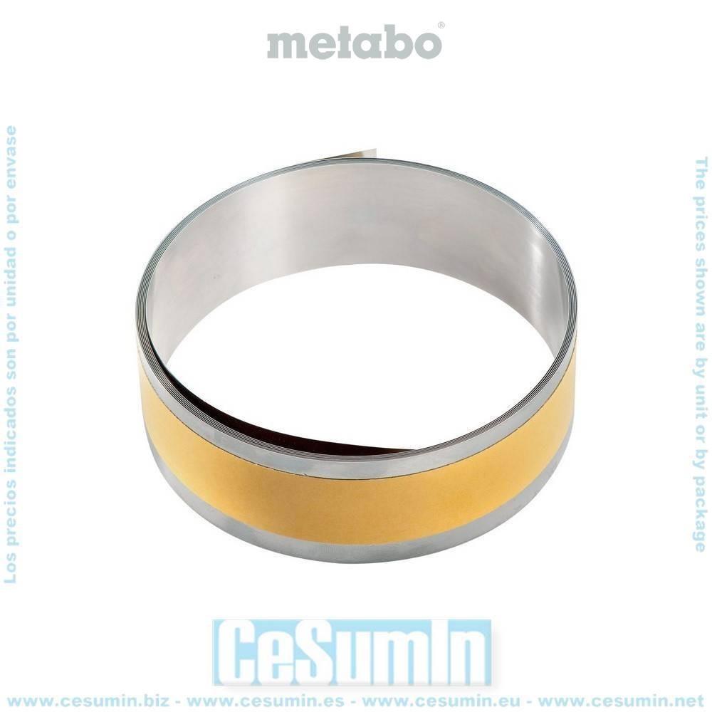 Metabo 626376000 Cinta adherente para acero 2500x40x0,15 mm